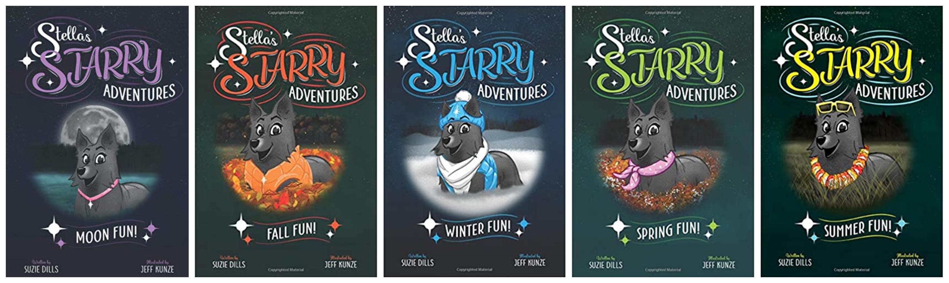 stella all books #starrytrails